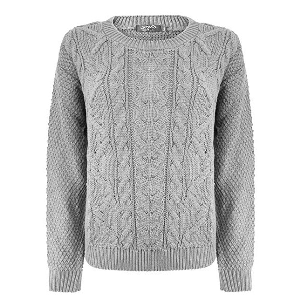 Grey Sweaters For Women And Men