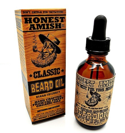 Honest Amish Beard Oil