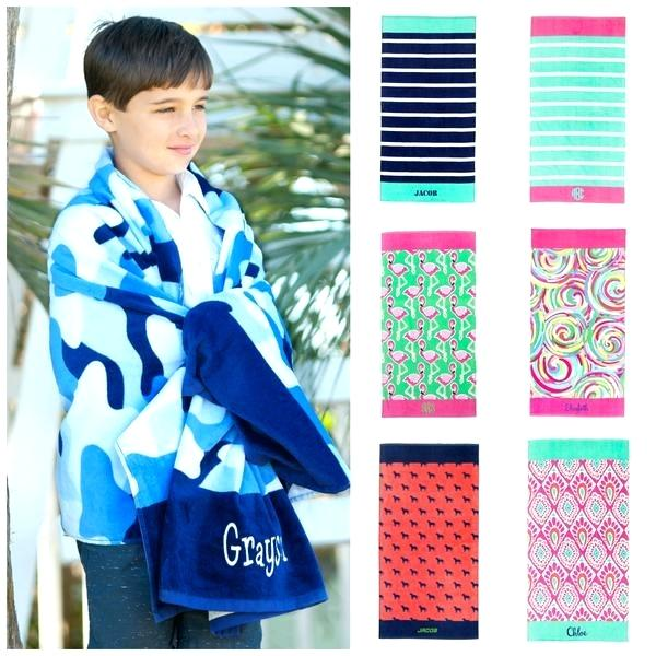 Kids Towels In Different Patterns