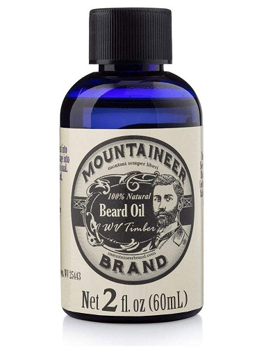 Mountaineer Brand All Natural beard OIL WV Timber