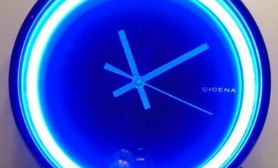 Neon Clock Designs