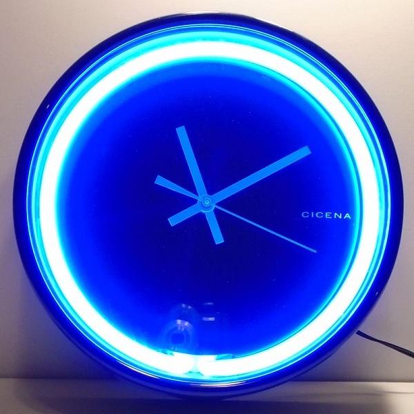 Multi-Purpose Neon Clocks With Images