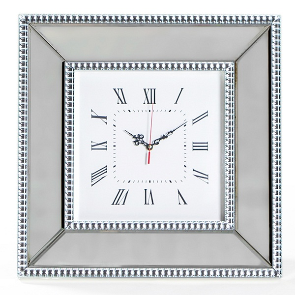 square clock designs