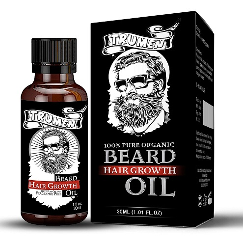 Tru Men Beard Growth Oil