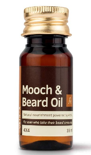 Ustraa Mooch & Beard Oil