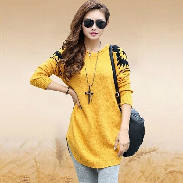 Yellow Sweaters for Women