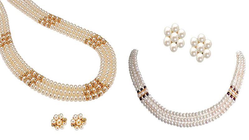 Beautiful Designs of Pearl Jewelry Sets for Women