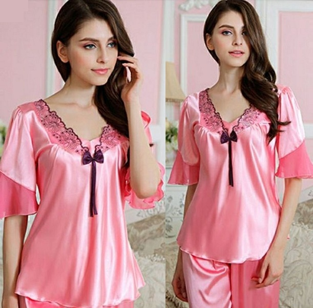Beautiful Silk Pajamas for Women