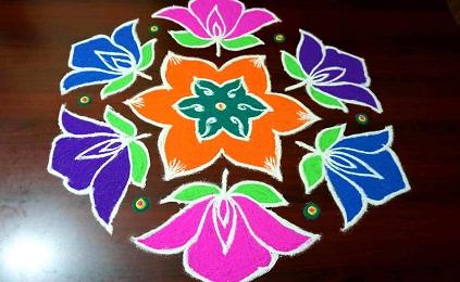 Complex Flower Design