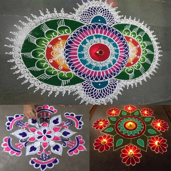 Rangoli Designs for Friday
