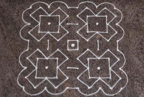 Geometric Design Rangoli