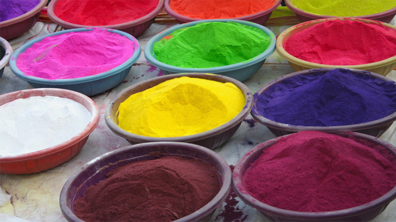 Make A Rangoli Powder
