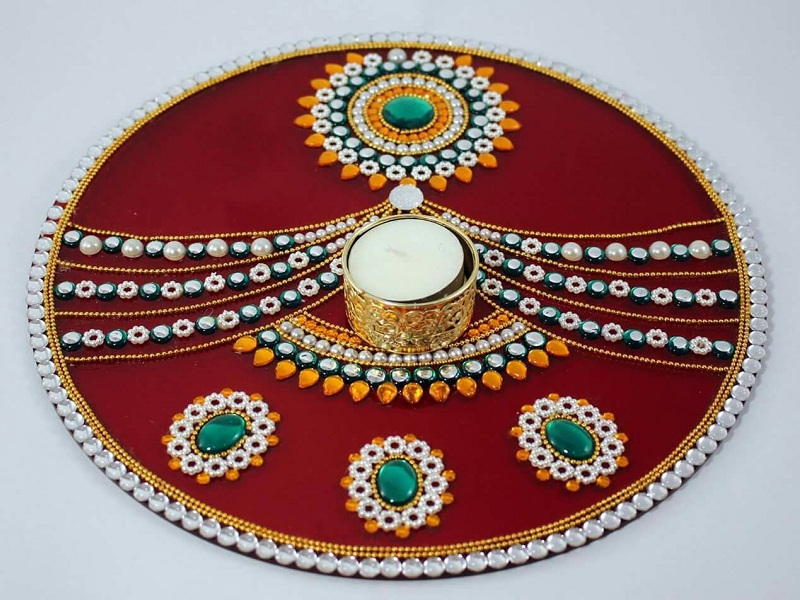 Latest and New Acrylic Rangoli Designs