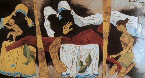 MF Hussain Paintings