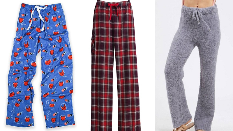 Popular Designs of Pajama Pants for Men and Women