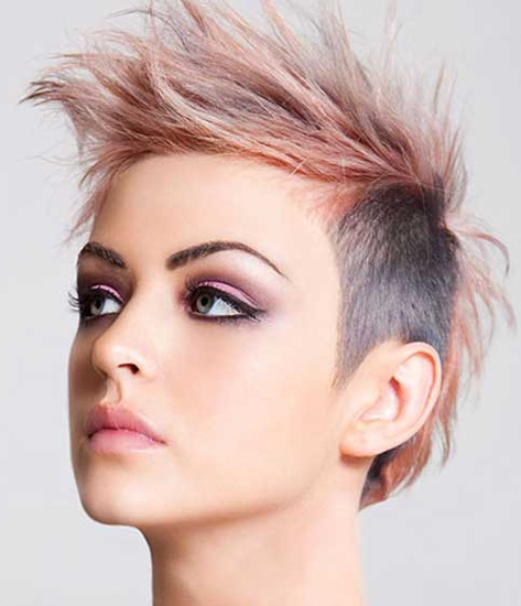 15 Trending Punk Hairstyle For Women In 2020 Styles At Life
