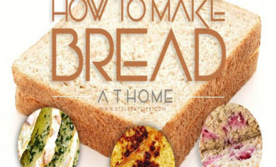How to Make Bread Recipe at Home
