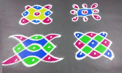 Special 3 Dots Rangoli