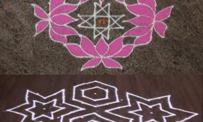 10 Dots Rangoli Designs