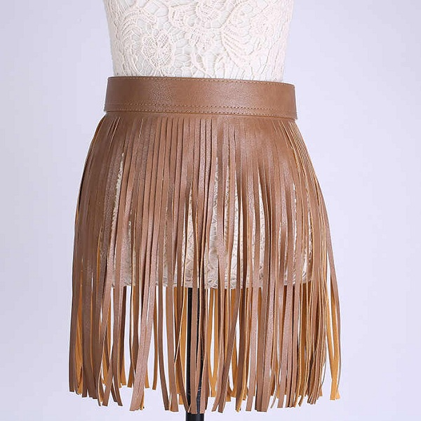 Trendy Fringe Skirts