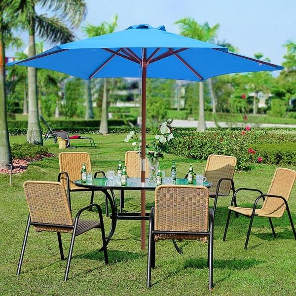 Wooden Umbrellas for Outdoor