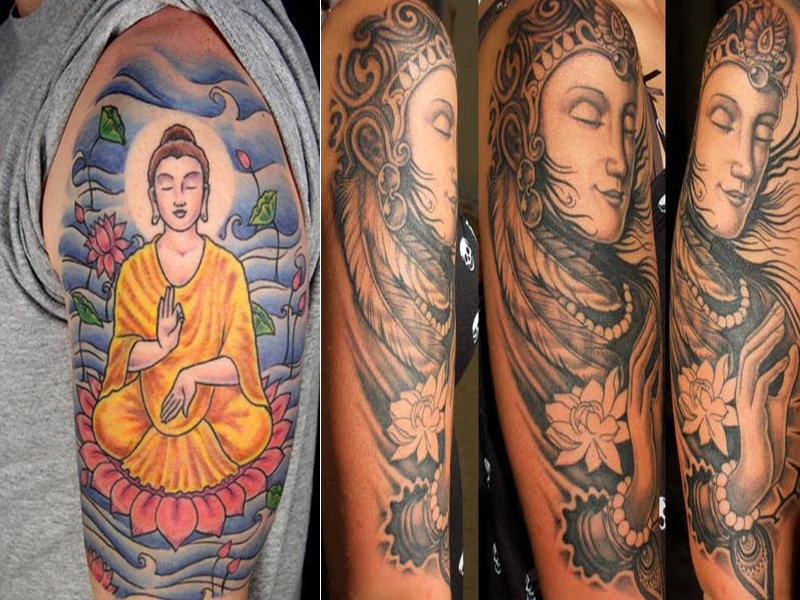 15 Small And Big Buddha Tattoo Designs For Men And Women