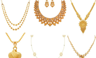 25 Grams Gold Necklace Designs In India