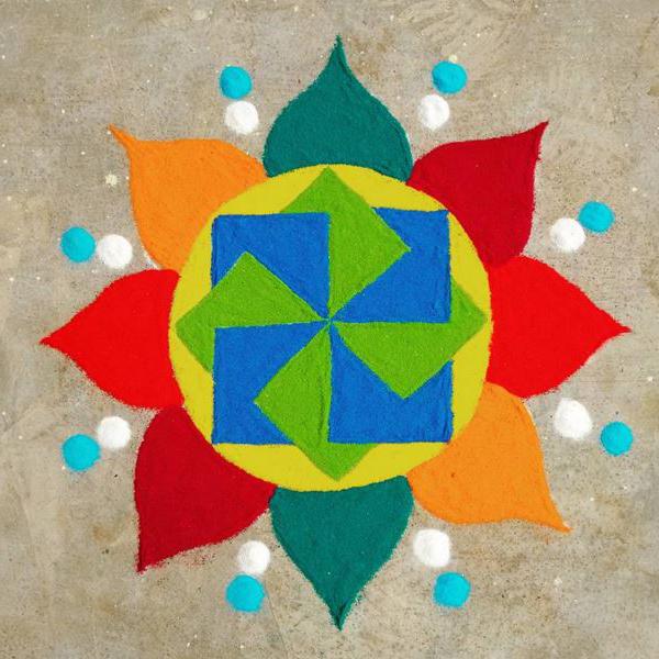 3d rangoli designs