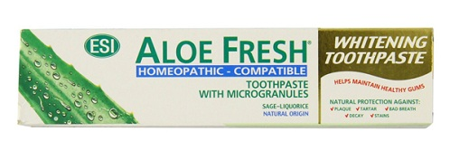 Aloe Fresh Homeopathic Toothpaste