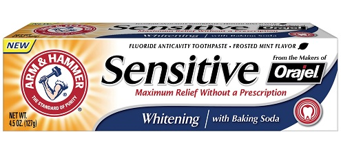 Arm and Hammer Sensitive Toothpaste