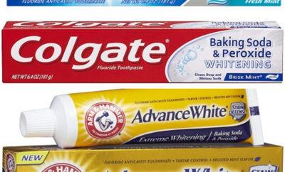 Baking Soda Toothpastes
