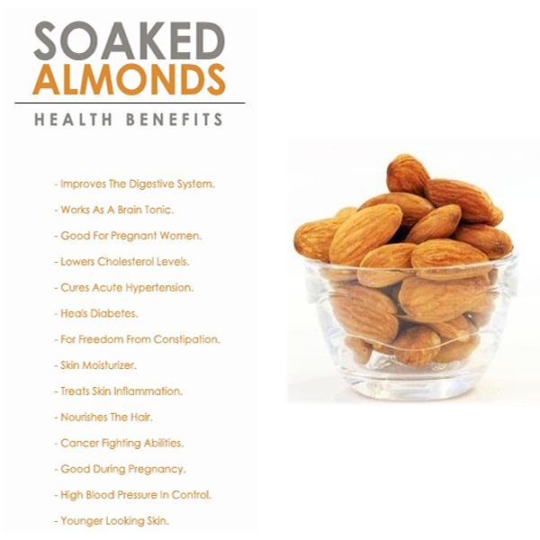 Best Benefits Of Soaked Almonds For Skin, Hair & Health