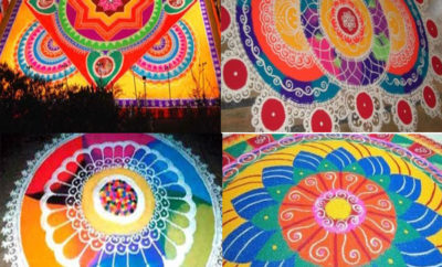Best Big Rangoli Designs That are Occupies Large Space