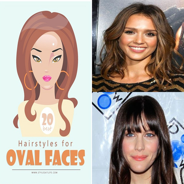 20 Best Looking Hairstyles for Oval Face Shape Women in 2019
