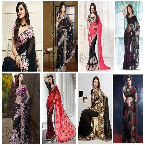 Black Sarees Collection