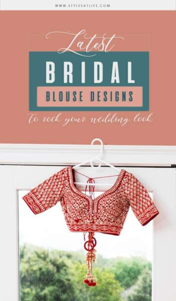 30 Well Suited Bridal Blouse Neck Designs For Wedding Sarees,Design Of Experiments Software