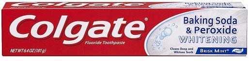 Colgate Baking Soda and Peroxide Toothpaste