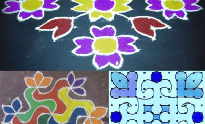 12 Dots Rangoli Designs