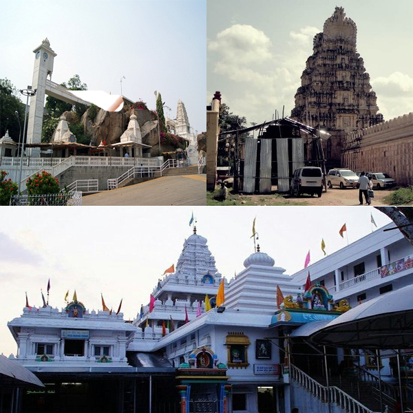 Divine Temples in and Around Hyderabad