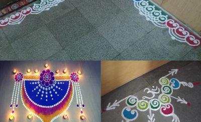 Door Rangoli Designs for Home