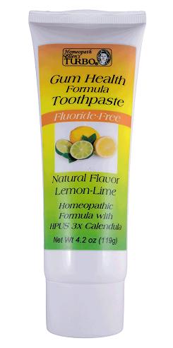 Ellen's Turbo Gum Health Formula Toothpaste