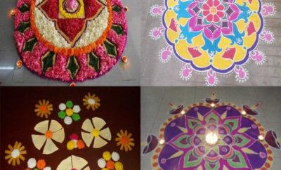 Famous Gujarati Rangoli Designs That are Aesthetic