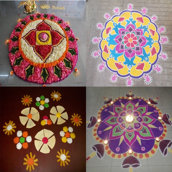 Famous Gujarati Rangoli Designs That are Aesthetic
