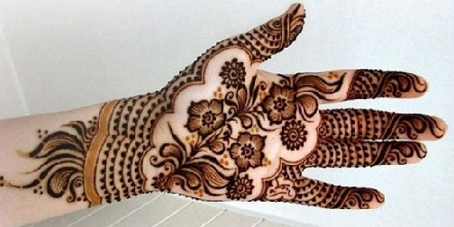 latest Palm Mehndi Designs