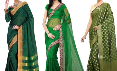 Green Sarees That Never Go Out Of Fashion