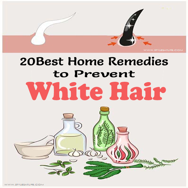 Reduce White Hair