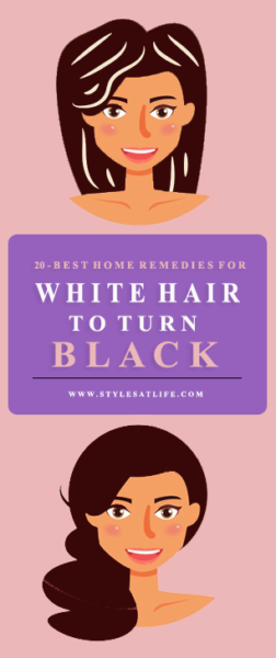 Home Remedies to Reduce White Hair