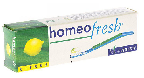 Homeofresh Toothpaste Citrus