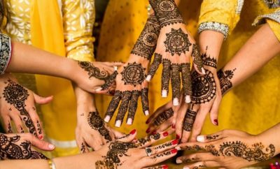 indian style mehandi designs
