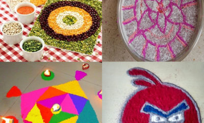Interesting Kids Rangoli Designs for Practice